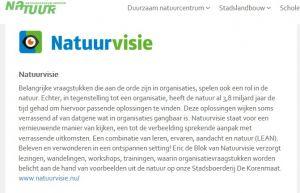 Natuurvisie gaat samenwerking aan met Natuurcentrum Arnhem
